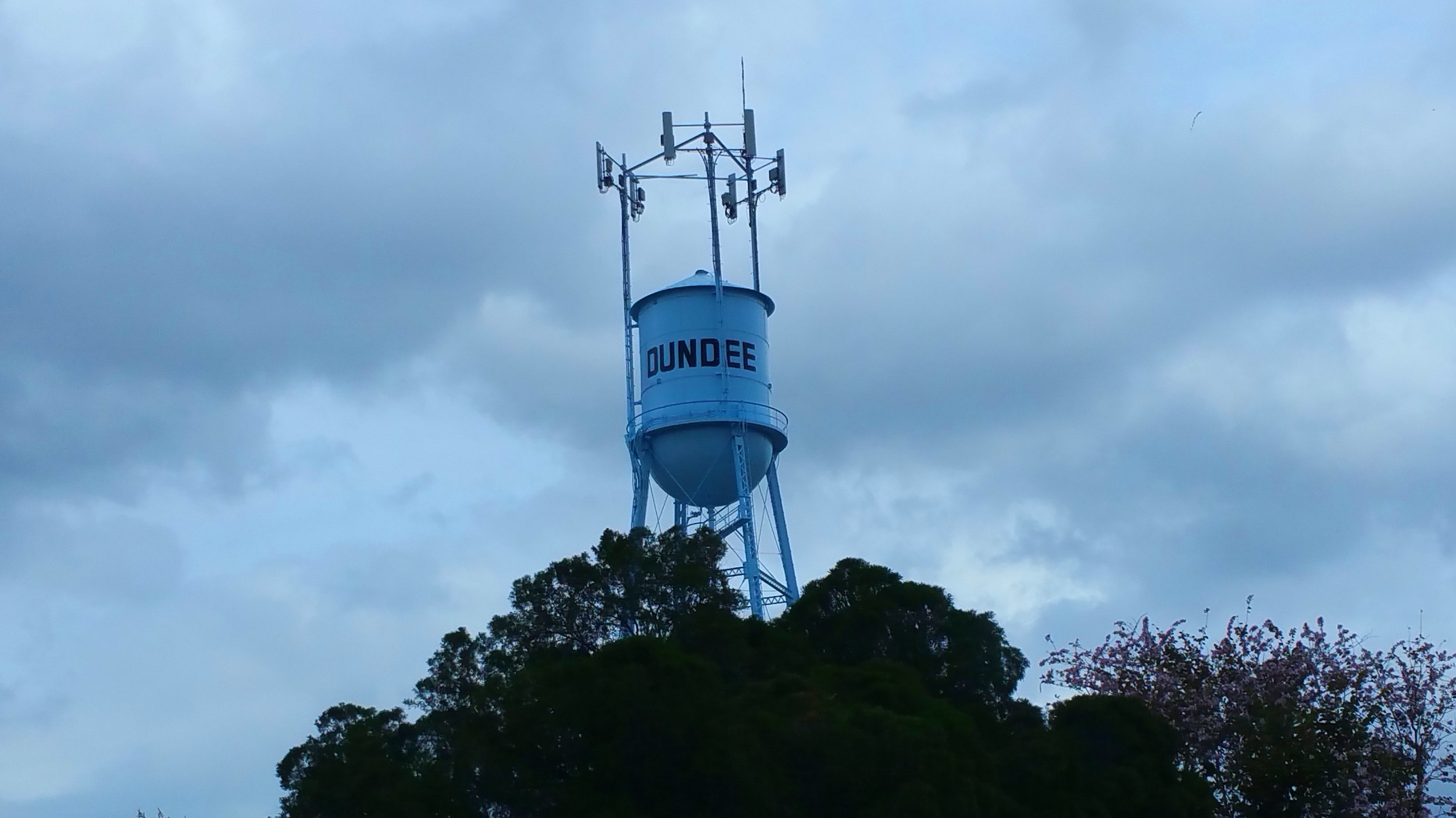 Elevated Water Tank - New Paint 2016