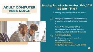 Adult Computer Assistance Classes