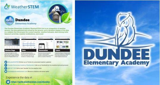 Dundee Elementary Academy WeatherSTEM