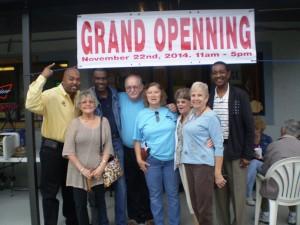 Grand (sic)Openning November 22nd, 2014. 11am-5pm