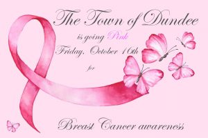 Dundee goes PINK- Breast Cancer Awareness